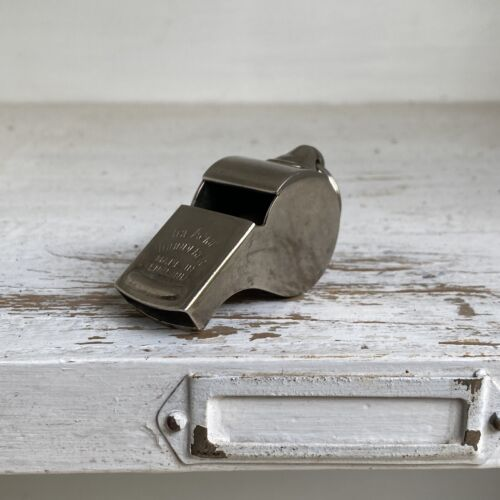 The Acme Thunderer Made In England Whistle Vintage Old Collector Sports