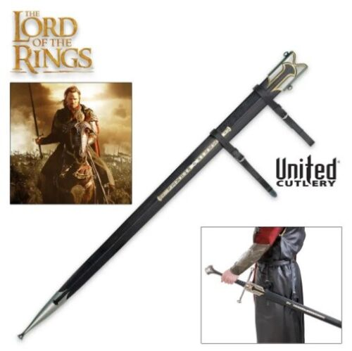 UNITED CUTLERY LOTR Anduril Scabbard Sheath for Sword Of King Elessar UC1396 NEW