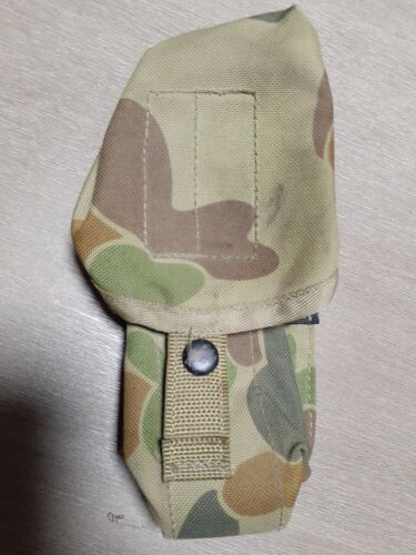 Original Australian Army Collapsible Three Cell Magazine PouchModern, Current - 36066
