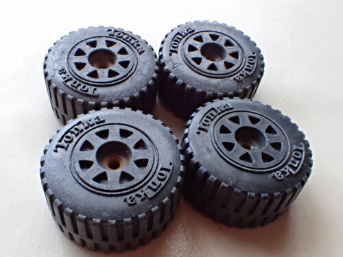 Set of 4 Tonka tires replacement toy parts