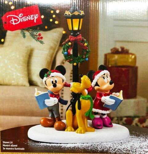 Disney Holiday Tabletop Carolers with Lights and Music Brand new