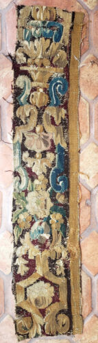 A Good Early Tapestry Fragment