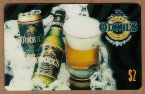 $2. O'Doul's Premium Non-Alcoholic Brew Beer: In Bottle, Can, & Mug Phone Card