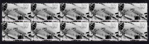 ENOLA GAY 60th ANNIVERSARY STRIP OF 10 MINT VIGNETTE STAMPS 3