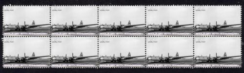 ENOLA GAY 60th ANNIVERSARY STRIP OF 10 MINT VIGNETTE STAMPS 1