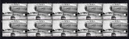 ENOLA GAY 60th ANNIVERSARY STRIP OF 10 MINT VIGNETTE STAMPS 5