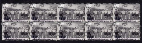 ENOLA GAY 60th ANNIVERSARY STRIP OF 10 MINT VIGNETTE STAMPS 2