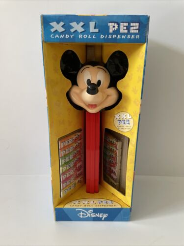 Giant Pez Candy Dispenser - Mickey Mouse. Collectible Don't Eat Candy.