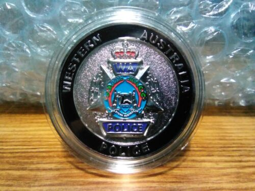 WESTERN AUSTRALIA POLICE - POLICE LEGACY - CHALLENGE COIN - OFFICIAL - SILVER