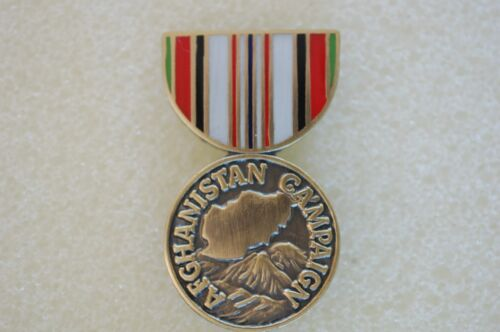 US USA Afghanistan Campaign Medal Military Hat PinOther Militaria - 135