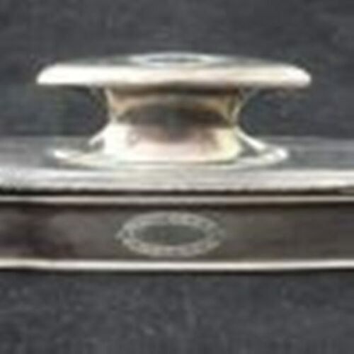 Sterling Silver R. Blankington & Co. Nail Buffer With Tray