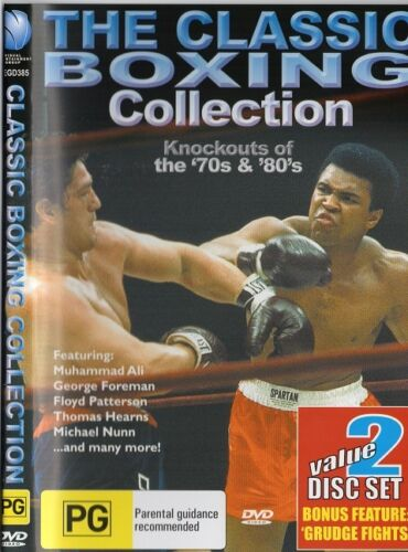 CLASSIC BOXING COLLECTION - BOXING KNOCKOUTS PLUS GRUDGE FIGHTS BOXING DVD