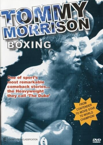 TOMMY MORRISON STORY BOXING DVD - DOCUMENTARY FIGHT FOOTAGE - ON SPECIAL