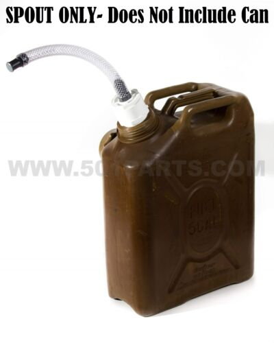 Scepter Military Fuel and Jerry Can Spout - Multi-Fuel 3/4 Inch Hose with FilterOther Military Surplus - 588