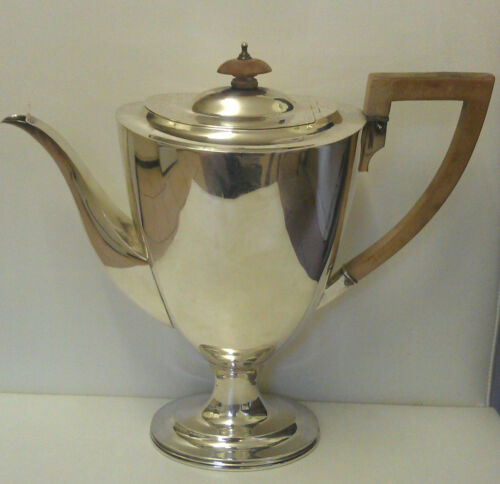 1913 BIRMINGHAM STERLING SILVER COFFEE POT 799 GRAMS GREAT GIFT