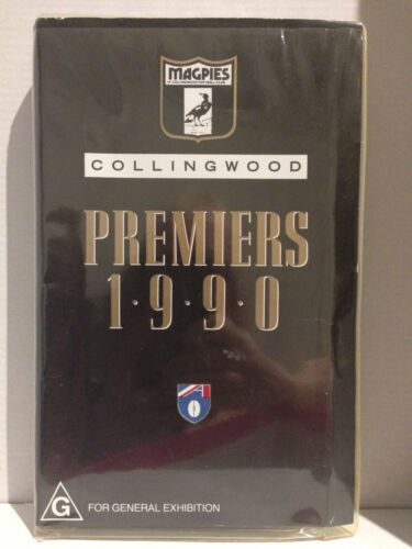 MAGPIES COLLINGWOOD 1990 GRAND FINAL PREMIERS ~ OFFICIAL AFL VIDEO