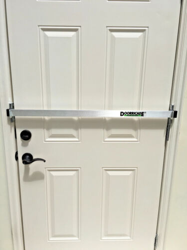 DOORRICADE SECURITY DOOR BAR  most effective and easiest to install  <br/> Don't be a victim of HOME INVASION. *SECURE YOUR DOOR*