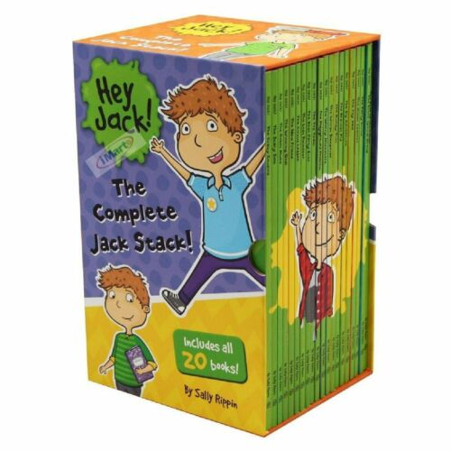 Hey Jack The Complete Jack Stack 20 Books Box Set by Sally Rippin
