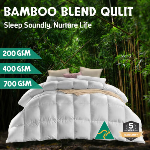 Aus Made All Size Microfiber Microfibre Bamboo Winter Summer Quilt Duvet Doona <br/> Australian Made✓ 5 Year Warranty✓ Buy with Confidence✓