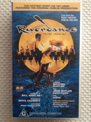 RIVERDANCE ~ THE SHOW ~ MICHAEL FLATLEY CONCERT ~ VHS VIDEO ~ FREE POST