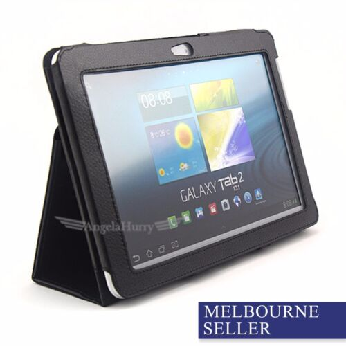 Premium Leather Flip Stand Case Cover For Samsung Galaxy Tab 2 10.1 P5100