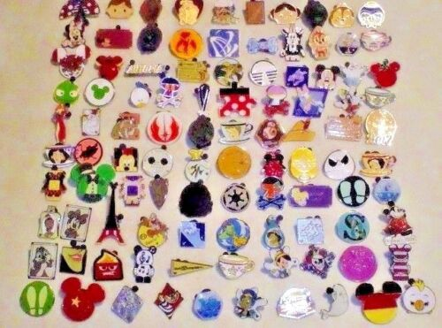 DISNEY PIN LOT 100 or purchase 200-300-400-500 Fastest USA shipper 100% TRADABLE