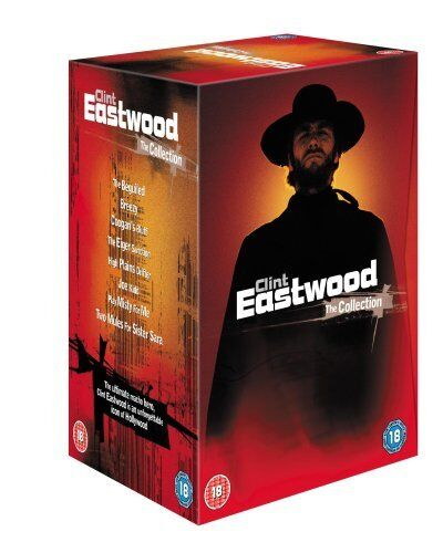 "CLINT EASTWOOD COLLECTION 8 FILMS DELUXE COLLECTOR'S DVD BOX SET R4 ""NEW&SEALED"""