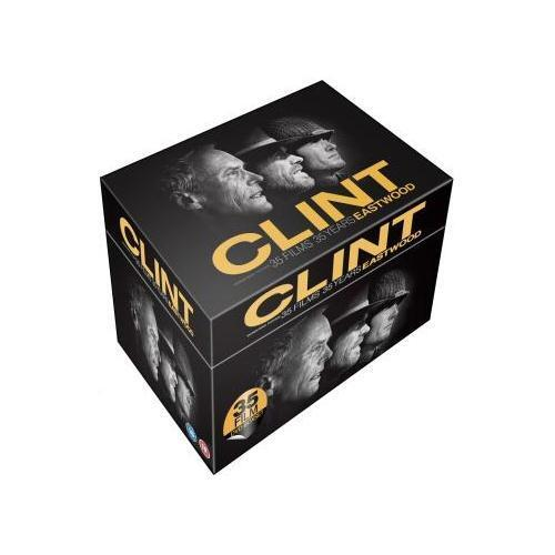 """CLINT EASTWOOD 35 FILMS 35 YEARS COLLECTION 35 DISCS DVD BOX SET """"NEW&SEALED"""""""