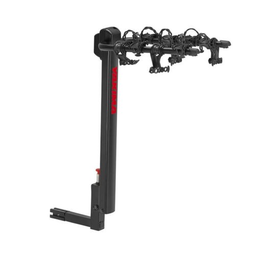 """YAKIMA DoubleDown 4 Bikes Bicycles Mount 2"""" Hitch Rear Vehicle Carrier Rack"""