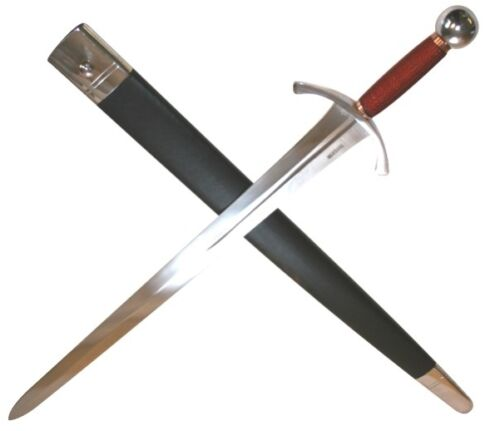 The Archers Sword Full Tang Tempered Battle Ready Hand Forged Sharp Edge BladeReenactment & Reproductions - 156374