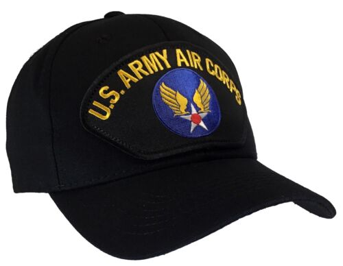 WWII U.S ARMY AIR CORPS FLYBOY HAT U.S MILITARY OFFICIAL BALL CAP U.S.A MADE