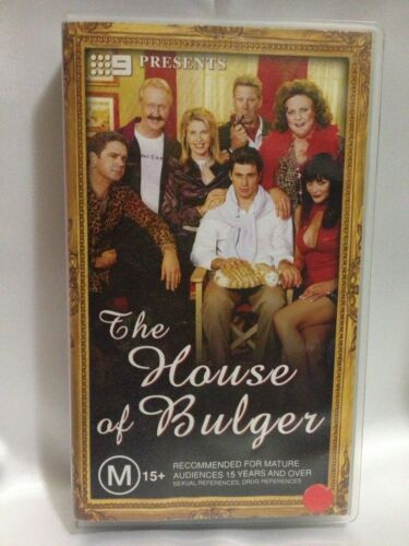 THE HOUSE OF BULGER ~ THE AFL FOOTY SHOW ~ RARE VHS VIDEO ~ 138 MINS