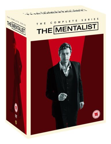 "THE MENTALIST COMPLETE SERIES 1-7 COLLECTION 34 DISCS DVD BOX SET R4 ""NEW"""