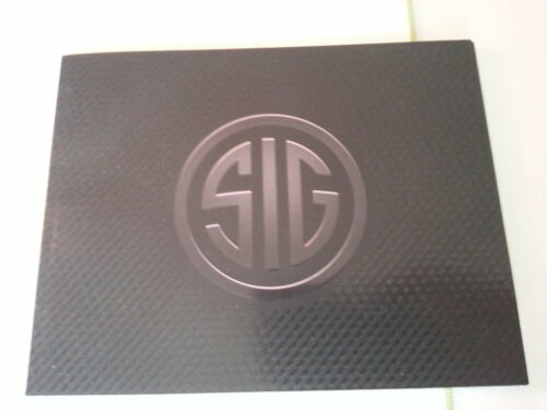 Sig Sauer Products Catalog Booklet / 2014 / New / 66 Pages / Pistols / RiflesPrice Guides & Publications - 171192
