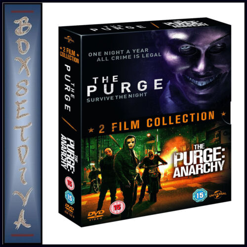 THE PURGE & THE PURGE ANARCHY - DOUBLE PACK **BRAND NEW DVD BOXSET****