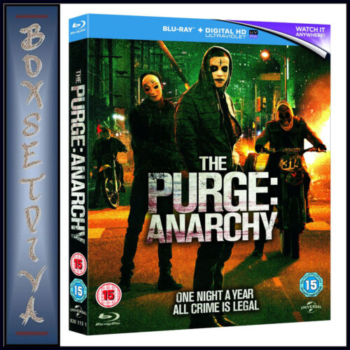 THE PURGE - ANARCHY  ***BRAND NEW BLU-RAY **