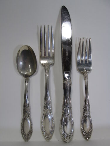 4 Pc. Towle Sterling Silver Place Setting 1932 King Richard #11