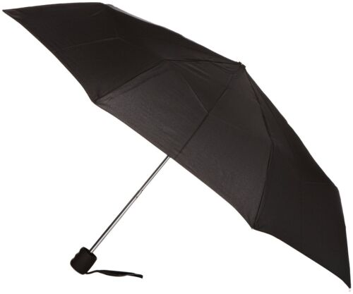 Fulton Stowaway High Quality Unisex Compact Umbrella Black