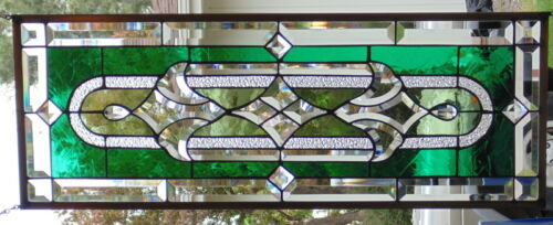 """Stained Glass Window Hanging 32 1/8 X 12"""""""