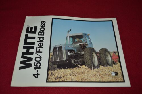 Oliver White Tractor 2-150 Field Boss Tractor Dealer/'s Brochure CNMD