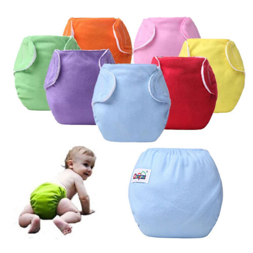 Baby Newborn Diaper Cover Adjustable Reusable Nappies Cloth Wrap Diapers