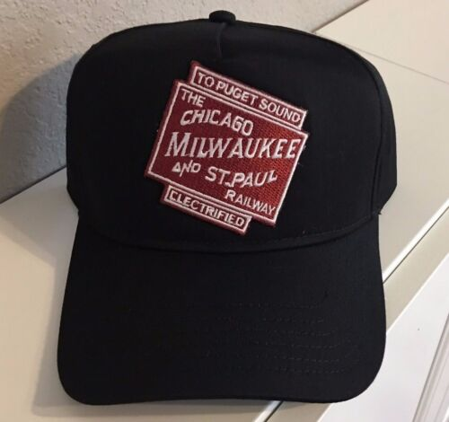 Cap / Hat - Milwaukee Railroad Electrified (CMSP&P) #22358   NEW