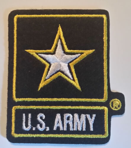 US ARMY STAR PATCH - MADE IN THE USA!Army - 48824