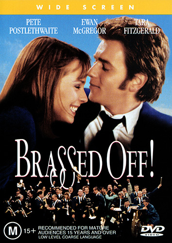 Ewan McGregor Tara Fitzgerald BRASSED OFF DVD