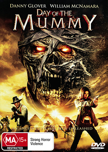 Danny Glover William McNamara DAY OF THE MUMMY - BLOODTHIRST CREATURE HORROR DVD