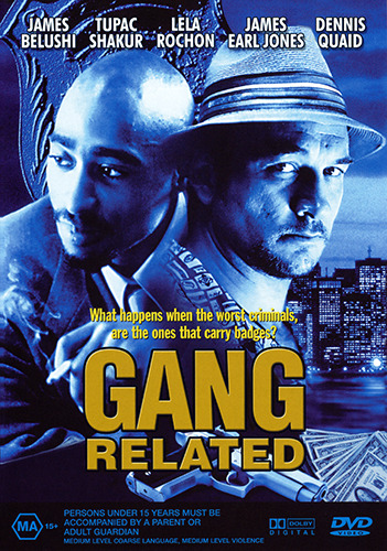 James Belushi Tupac Shakur Dennis Quaid GANG RELATED DVD