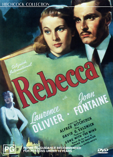 Laurence Olivier Joan Fontaine REBECCA - ALFRED HITCHCOCK MYSTERY DVD