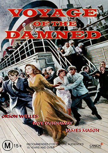 Orson Welles Faye Dunaway VOYAGE OF THE DAMNED - TRAGIC TRUE STORY DRAMA DVD