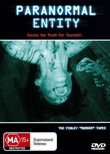 PARANORMAL ENTITY - ACTUAL FOOTAGE OF TRUE STORY PARANORMAL DEATH HORROR DVD