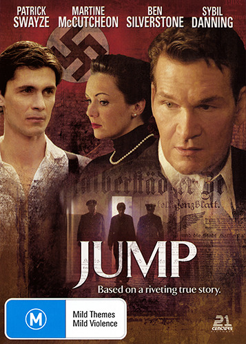 Patrick Swayze JUMP - RIVETING TRUE STORY MURDER TRIAL DVD